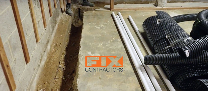 basement waterproofing fix contractors